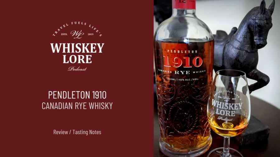 Pendleton 1910 Canadian Rye 12 Years Old