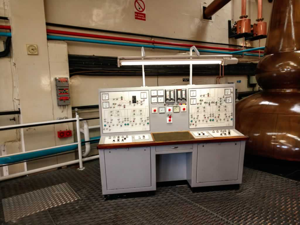 speyside glenfarclas distillery 05 james bond 70s equipment