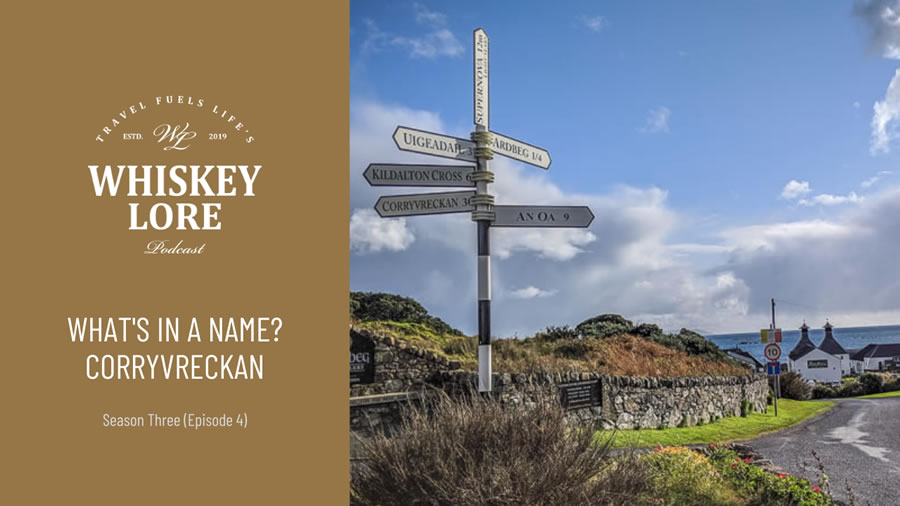 What's in a Name?: Corryvreckan (feat Tom Wylde)